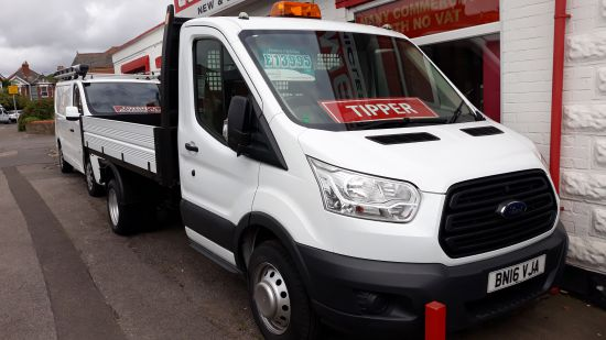 used vehicle 2016 '16' Ford Transit Tipper 350 125ps