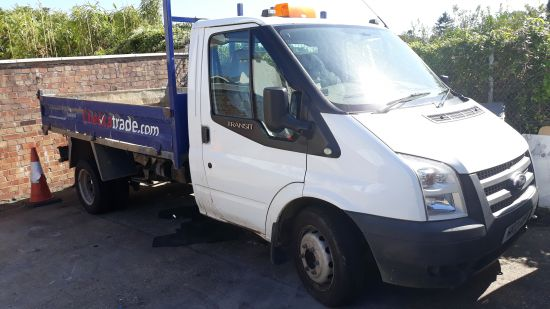 used vehicle 2012 '12' Ford Transit 350 Tipper