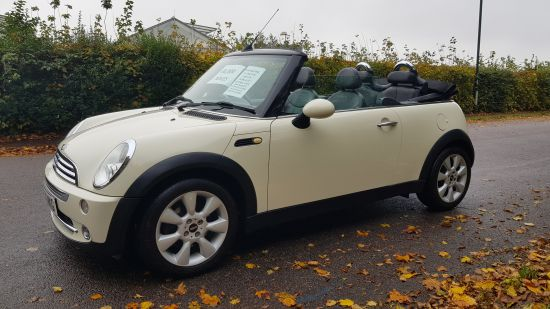 used vehicle 2006 '56' Mini Cooper 1.6 Convertible
