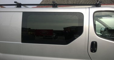 extra windows & roofrack added to this van