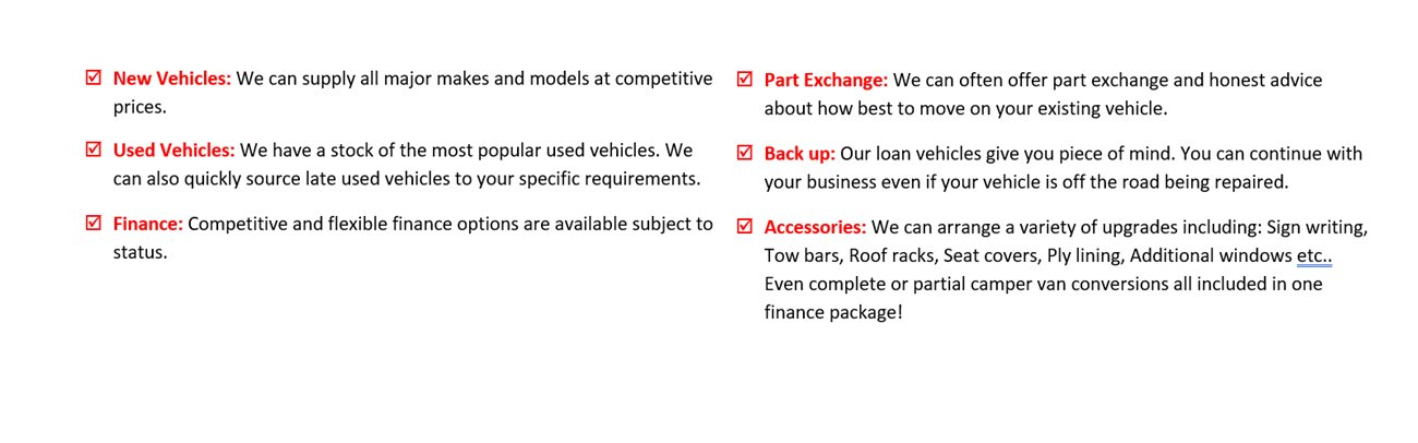 New & Used Vehicles for Sale, Part Exchange, Vehicle Finance & Servicing Bournemouth, Dorset