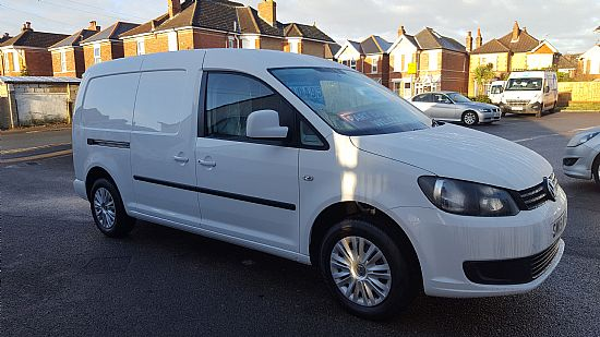 vw caddy maxi c20 trendline 102 bhp from economy commericals in bournemouth dorset. Black Bedroom Furniture Sets. Home Design Ideas