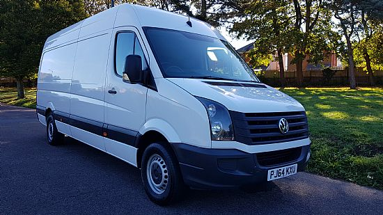 2014 '64' VW Crafter CR35 Startline LWB High roof 109 BHP