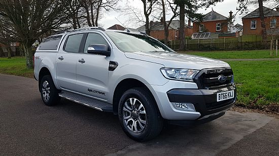 used vehicle 2016 '66' Ford Ranger Wildtrak 4x4 Double Cab Pickup 3.2 TDCI 200 BHP AUTO