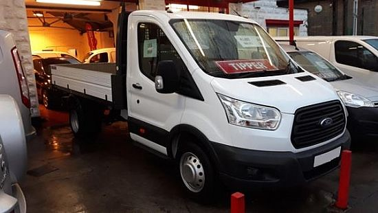 used vehicle 2015 '15' Ford Transit Tipper 125BHP